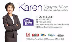 Brampton Realtor, Real Estate Agent - Karen Nguyen