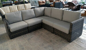 Outdoor Sectional - Patio Furniture, wicker furniture, patio set