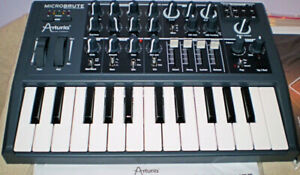 Brand New Microbrute Analog Synth from Arturia - $385