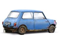 Classic mini wanted south wales