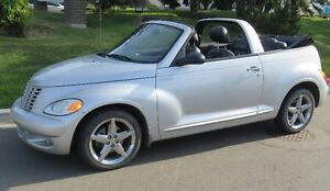 """2005 CONVERTIBLE PT CRUISER """"GT"""" TURBO  LOW MILEAGE"""
