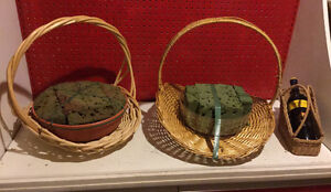BASKETS (Various Sizes and Shapes) - MAKE ME AN OFFER