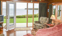 Romantic Waterfront Cottage