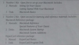 Macintosh Classic Software & Manuals - $30.00