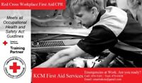 Workplace Standard First Aid Course w/Level C CPR/AED
