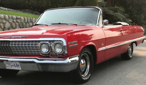1963 Impala Convertible 4 speed