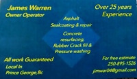 Warren Asphalt Paving , Patching & Sealcoating Driveway repair