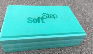 Mint green soft step brand stepper