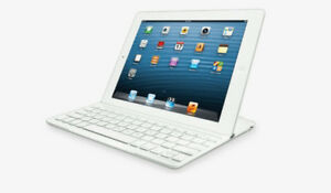 Logitech Ultrathin White Keyboard for iPad