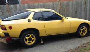 1979 Porsche 924 manual $9000 or trade for truck