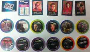 STAR TREK FRITOS-LAYS 1993 CARD COLLECTION & STAR TREK POGS West Island Greater Montréal image 3