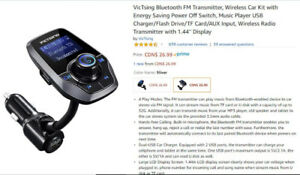 Brand new Car Bluetooth FM Transmitter (Unopened)