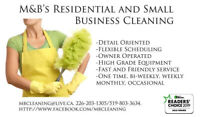 Are you in need of a one time THOROUGH cleaning?