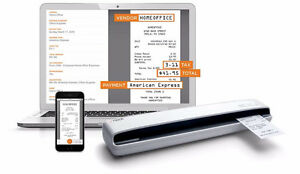 Neat Receipts Mobile / Portable Scanner For Windows Like New Cambridge Kitchener Area image 1