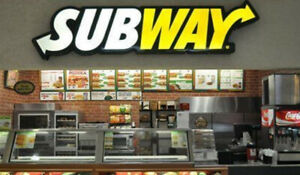 Subway Franchise for Sale
