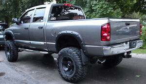 2007 Dodge Power Ram 1500 SLT Pickup Truck LIFTED RIMS EXHAUST Stratford Kitchener Area image 8