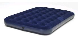 Double air mattress and pump