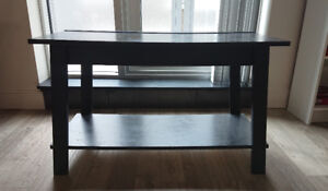 Scuffed Black Coffee Table