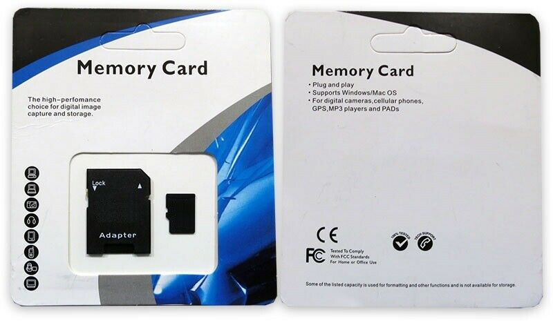 32/64/128/256/512GB Micro SD SDHC SDXC Universal Flash TF Me