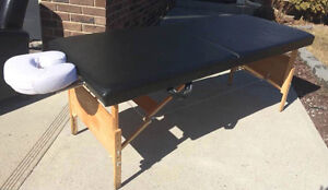 Massage tables, towel cabbi's and more