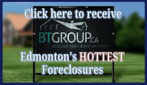 Hot new foreclosure in Edmonton