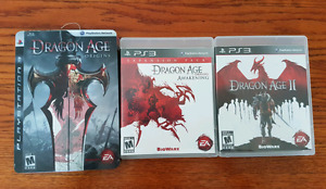 PS3 Dragon Age games
