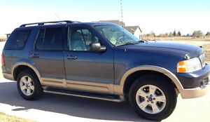 03 Ford Explorer EDDIE BAUER, 4X4, LEATHER, 7seat - FULLY LOADED Moose Jaw Regina Area image 5