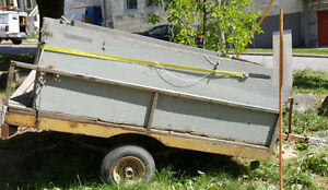 Utility Trailer with removable sides