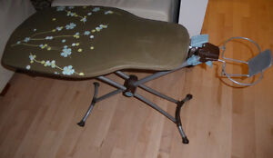 Deluxe extra wide ironing board