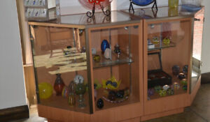 2 Retail Display Cases