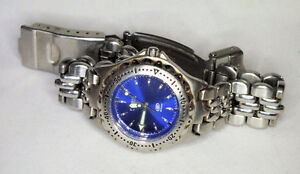 """Ladies Fossil """"Blue"""" watch, 100m new battery."""