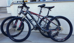 GT Mountain Bikes (x2) Large & Med