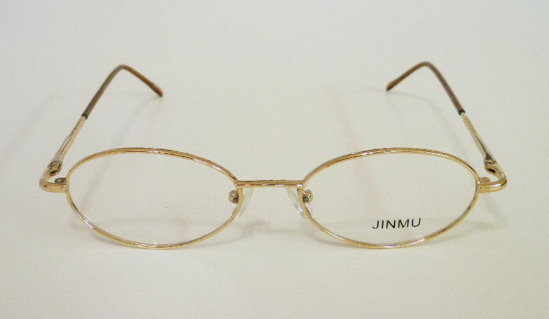 50-17-138 Oval Metal Frame Unisex 4 Colors Retail $125++ SAVE lQQl