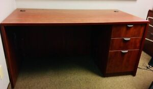3 Office Desks with Drawers