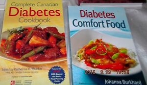Diabetes  cookbooks for sale (2)
