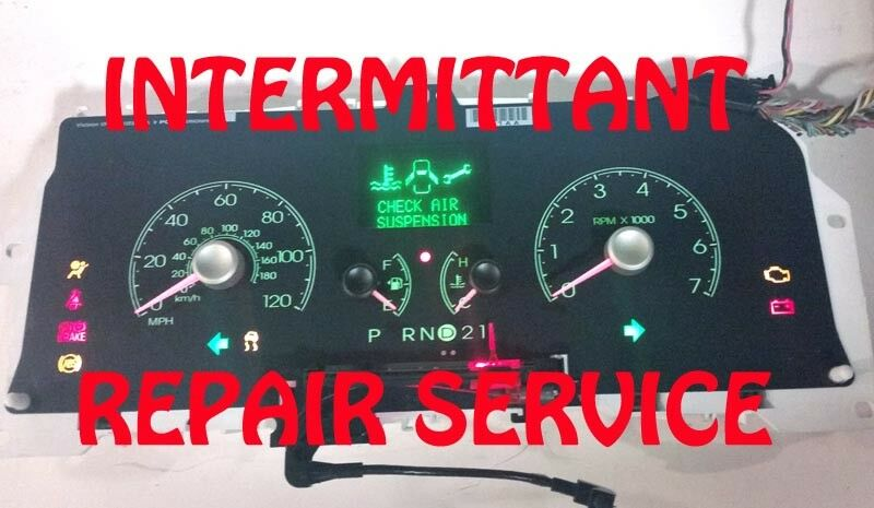 1993 TO 2004 LINCOLN TOWN CAR CLUSTER SOFTWARE & ODOMETER CALIBRATION SERVICE