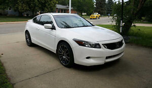 2009 Honda Accord EX-L Coupe 2.4L 4cyl LOW KM!! EXTRA TIRES