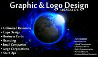A1 Logo & Graphic Design - Freelance with References !! LOGO's