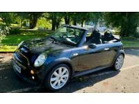 2007 MINI Cabriolet COOPER S CONVERTIBLE SATNAV XENONS LEATHER 2OWNERS VERY CLEA