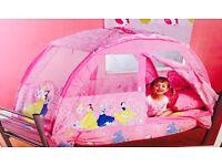 DISNEY PRINCESS BED TENT (sold)