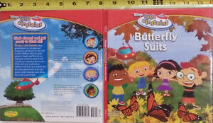 Disney Little Einsteins Butterfly Suits Hard Cover Book -Ret $10
