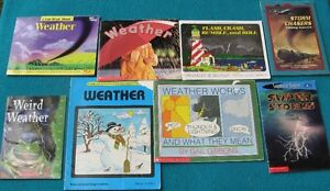 Weather Books for the Primary/Jr  Class