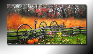 LA1-056, Brand New, Hand made (not printed) Oil painting