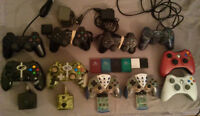 Memory Cards, Controllers and Accesories