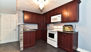 Spacious renovated 2-bedroom basement suite in West Woodbridge