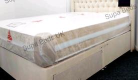 BED OUTLET SALE 🌟NEW 2000 POCKET SPRING MEMORY FOAM MATTRESS 4FT6 DBL