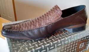 FORGE Man shoes. Genuine leather. Brown. Size 12 (45). Used.