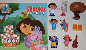 6 sets of Qty 9 Dora Toys & Books London Ontario image 5