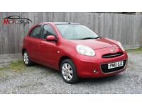 Nissan Micra 1.2 12v Tekna 5 Door 2011 only £30 Road Tax