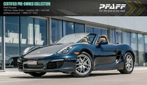2015 Porsche Boxster PDK - LOW KMS, CERTIFIED, MORE!